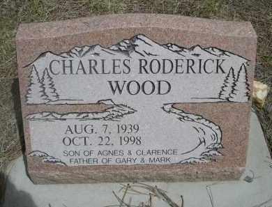 WOOD, CHARLES RODERICK - Pennington County, South Dakota | CHARLES RODERICK WOOD - South Dakota Gravestone Photos