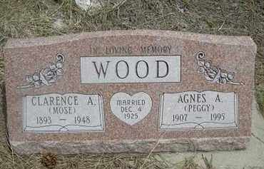 WOOD, CLARENCE A. - Pennington County, South Dakota | CLARENCE A. WOOD - South Dakota Gravestone Photos