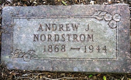 NORDSTROM, ANDREW J. - Roberts County, South Dakota | ANDREW J. NORDSTROM - South Dakota Gravestone Photos