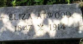 ATWOOD, ELIZA - Sanborn County, South Dakota | ELIZA ATWOOD - South Dakota Gravestone Photos