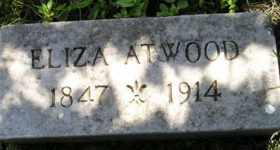 ATWOOD, ELIZA - Sanborn County, South Dakota | ELIZA ATWOOD - South Dakota Gravestone Photos