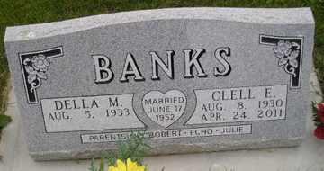 BANKS, DELLA M - Sanborn County, South Dakota | DELLA M BANKS - South Dakota Gravestone Photos