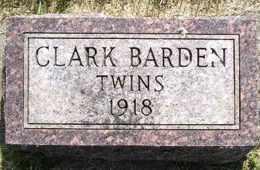 BARDEN, TWINS - Sanborn County, South Dakota   TWINS BARDEN - South Dakota Gravestone Photos