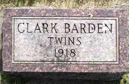 BARDEN, TWINS - Sanborn County, South Dakota | TWINS BARDEN - South Dakota Gravestone Photos