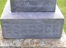 BEACOCK, BASE - Sanborn County, South Dakota   BASE BEACOCK - South Dakota Gravestone Photos