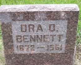 BENNETT, ORA D - Sanborn County, South Dakota   ORA D BENNETT - South Dakota Gravestone Photos