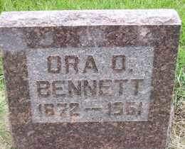 BENNETT, ORA D - Sanborn County, South Dakota | ORA D BENNETT - South Dakota Gravestone Photos