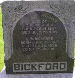 BICKFORD, C W - Sanborn County, South Dakota   C W BICKFORD - South Dakota Gravestone Photos
