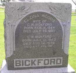 BICKFORD, ELZINA - Sanborn County, South Dakota | ELZINA BICKFORD - South Dakota Gravestone Photos