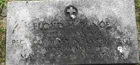 BUNCE, FLOYD H - Sanborn County, South Dakota | FLOYD H BUNCE - South Dakota Gravestone Photos