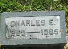 CARPENTER, CHARLES E - Sanborn County, South Dakota | CHARLES E CARPENTER - South Dakota Gravestone Photos