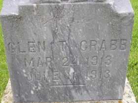 CRABB, GLEN T - Sanborn County, South Dakota | GLEN T CRABB - South Dakota Gravestone Photos