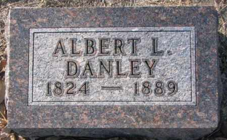 DANLEY, ALBERT L. - Sanborn County, South Dakota | ALBERT L. DANLEY - South Dakota Gravestone Photos