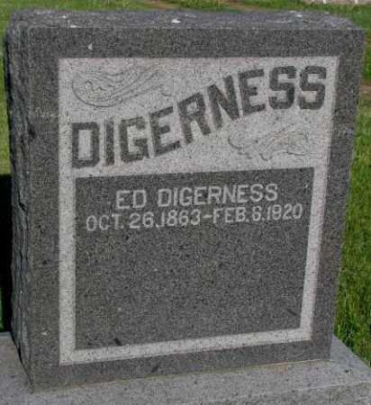 DIGERNESS, ED - Sanborn County, South Dakota | ED DIGERNESS - South Dakota Gravestone Photos