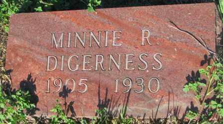 DIGERNESS, MINNIE R. - Sanborn County, South Dakota | MINNIE R. DIGERNESS - South Dakota Gravestone Photos