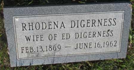 DIGERNESS, RHODENA - Sanborn County, South Dakota | RHODENA DIGERNESS - South Dakota Gravestone Photos