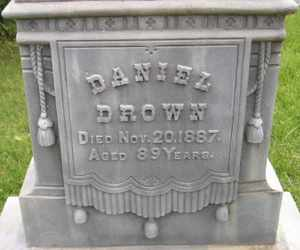DROWN, DANIEL - Sanborn County, South Dakota   DANIEL DROWN - South Dakota Gravestone Photos