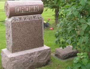 DROWN, FAMILY - Sanborn County, South Dakota | FAMILY DROWN - South Dakota Gravestone Photos