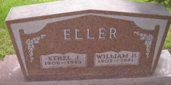 ELLER, WILLIAM H - Sanborn County, South Dakota   WILLIAM H ELLER - South Dakota Gravestone Photos