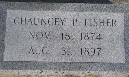 FISHER, CHAUNCEY P. - Sanborn County, South Dakota | CHAUNCEY P. FISHER - South Dakota Gravestone Photos
