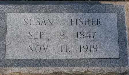 FISHER, SUSAN - Sanborn County, South Dakota   SUSAN FISHER - South Dakota Gravestone Photos