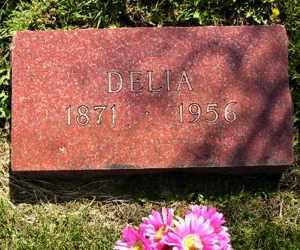 FRIEDRICHS, DELIA - Sanborn County, South Dakota | DELIA FRIEDRICHS - South Dakota Gravestone Photos