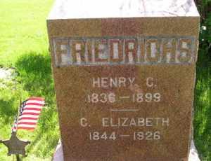 FRIEDRICHS, C ELIZABETH - Sanborn County, South Dakota | C ELIZABETH FRIEDRICHS - South Dakota Gravestone Photos