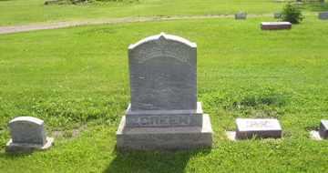 GREEN, FAMILY - Sanborn County, South Dakota   FAMILY GREEN - South Dakota Gravestone Photos