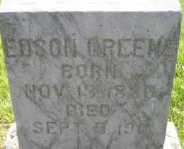 GREENE, EDSON - Sanborn County, South Dakota | EDSON GREENE - South Dakota Gravestone Photos