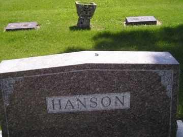 HANSON, FAMILY - Sanborn County, South Dakota | FAMILY HANSON - South Dakota Gravestone Photos