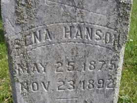 HANSON, SENA - Sanborn County, South Dakota | SENA HANSON - South Dakota Gravestone Photos
