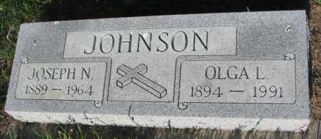 JOHNSON, JOSEPH N. - Sanborn County, South Dakota | JOSEPH N. JOHNSON - South Dakota Gravestone Photos