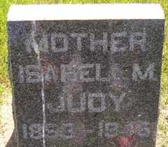 JUDY, ISABEL M - Sanborn County, South Dakota | ISABEL M JUDY - South Dakota Gravestone Photos