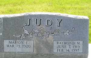 JUDY, MARION E - Sanborn County, South Dakota | MARION E JUDY - South Dakota Gravestone Photos