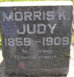 JUDY, MORRIS K - Sanborn County, South Dakota   MORRIS K JUDY - South Dakota Gravestone Photos