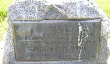JUDY, SHERMAN S - Sanborn County, South Dakota | SHERMAN S JUDY - South Dakota Gravestone Photos