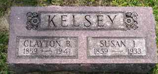 KELSEY, CLAYTON B - Sanborn County, South Dakota | CLAYTON B KELSEY - South Dakota Gravestone Photos