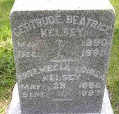 KELSEY, GERTRUDE BEATRICE - Sanborn County, South Dakota | GERTRUDE BEATRICE KELSEY - South Dakota Gravestone Photos