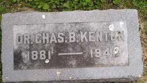 KENTON, CHARLES B, DR - Sanborn County, South Dakota | CHARLES B, DR KENTON - South Dakota Gravestone Photos
