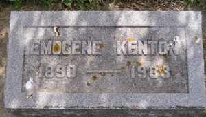 KENTON, EMOGENE - Sanborn County, South Dakota | EMOGENE KENTON - South Dakota Gravestone Photos