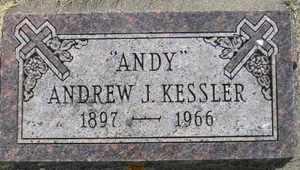 KESSLER, ANDREW J - Sanborn County, South Dakota | ANDREW J KESSLER - South Dakota Gravestone Photos