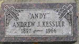 KESSLER, ANDREW J - Sanborn County, South Dakota | ANDREW J KESSLER - South Dakota Gravestone Photos