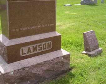 LAMSON, FAMILY - Sanborn County, South Dakota | FAMILY LAMSON - South Dakota Gravestone Photos