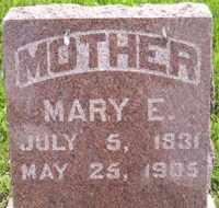 LAMSON, MARY ELIZABETH SCOLLARD - Sanborn County, South Dakota | MARY ELIZABETH SCOLLARD LAMSON - South Dakota Gravestone Photos