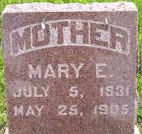 LAMSON, MARY ELIZABETH SCOLLARD - Sanborn County, South Dakota   MARY ELIZABETH SCOLLARD LAMSON - South Dakota Gravestone Photos