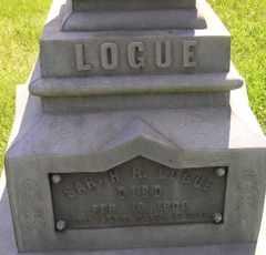 LOGUE, SARAH R - Sanborn County, South Dakota | SARAH R LOGUE - South Dakota Gravestone Photos