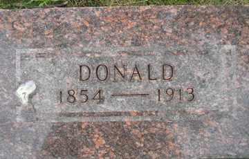 MCKILLOP, DONALD - Sanborn County, South Dakota | DONALD MCKILLOP - South Dakota Gravestone Photos