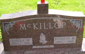 MCKILLOP, LUELLA M - Sanborn County, South Dakota | LUELLA M MCKILLOP - South Dakota Gravestone Photos