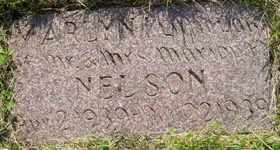 NELSON, MARLYN - Sanborn County, South Dakota | MARLYN NELSON - South Dakota Gravestone Photos