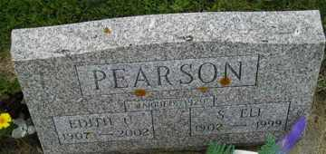 PEARSON, S ELI - Sanborn County, South Dakota | S ELI PEARSON - South Dakota Gravestone Photos